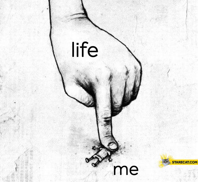 Life me finger killing