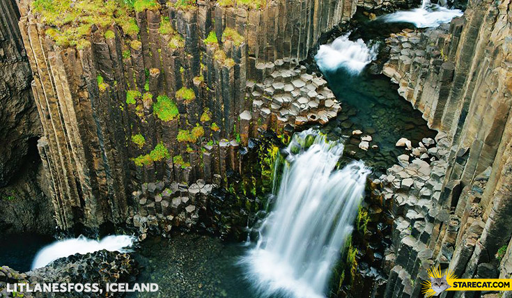 Litlanesfoss Iceland