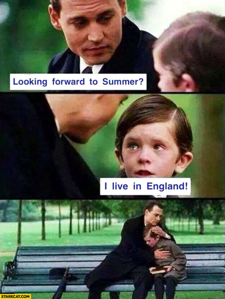 Looking forward to summer I live in England kid Johnny Depp