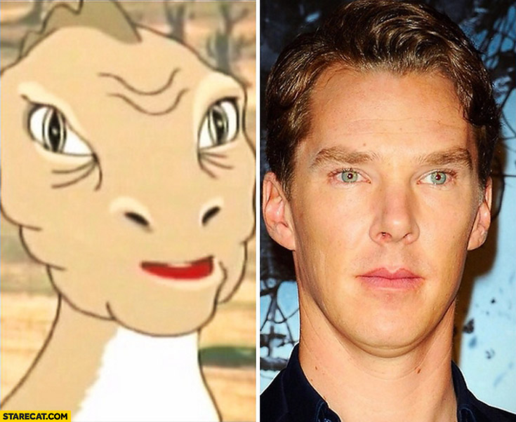 Looking like Benedict Cumberbatch