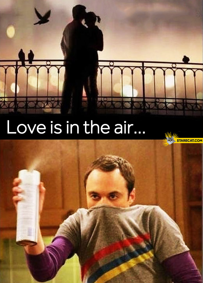 Love is in the air Sheldon
