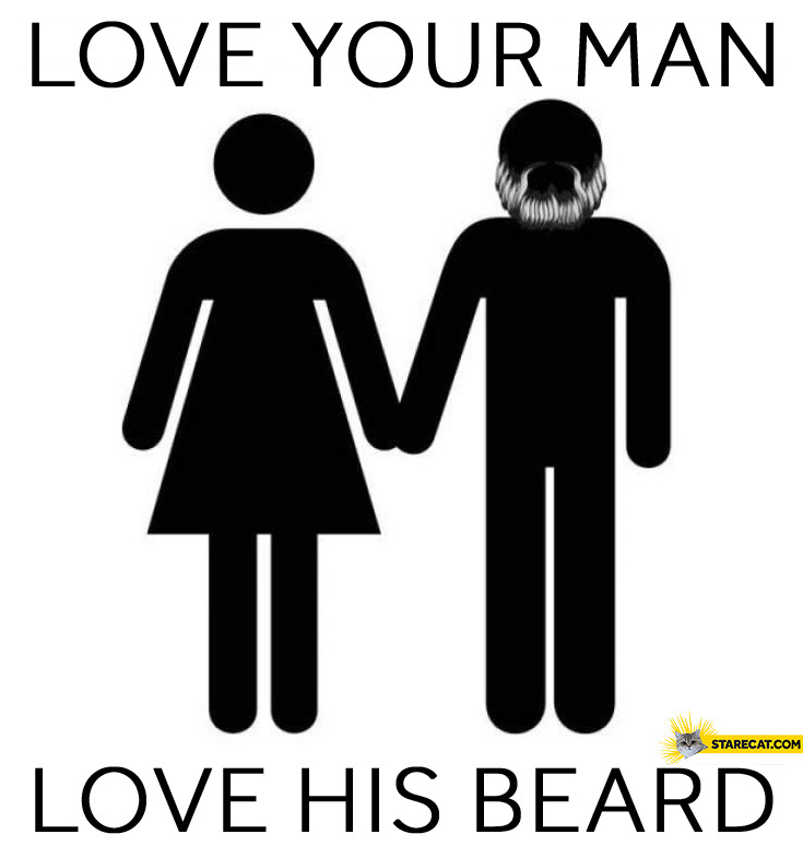 Love your man, love his beard