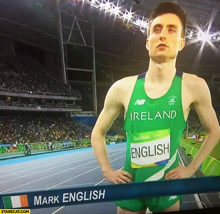 Mark English Irish sportsman