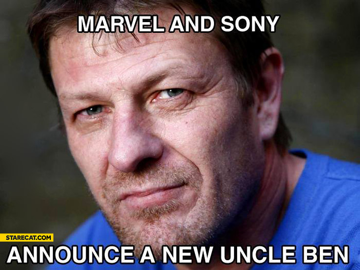 Marvel and Sony announce a new Uncle Ben