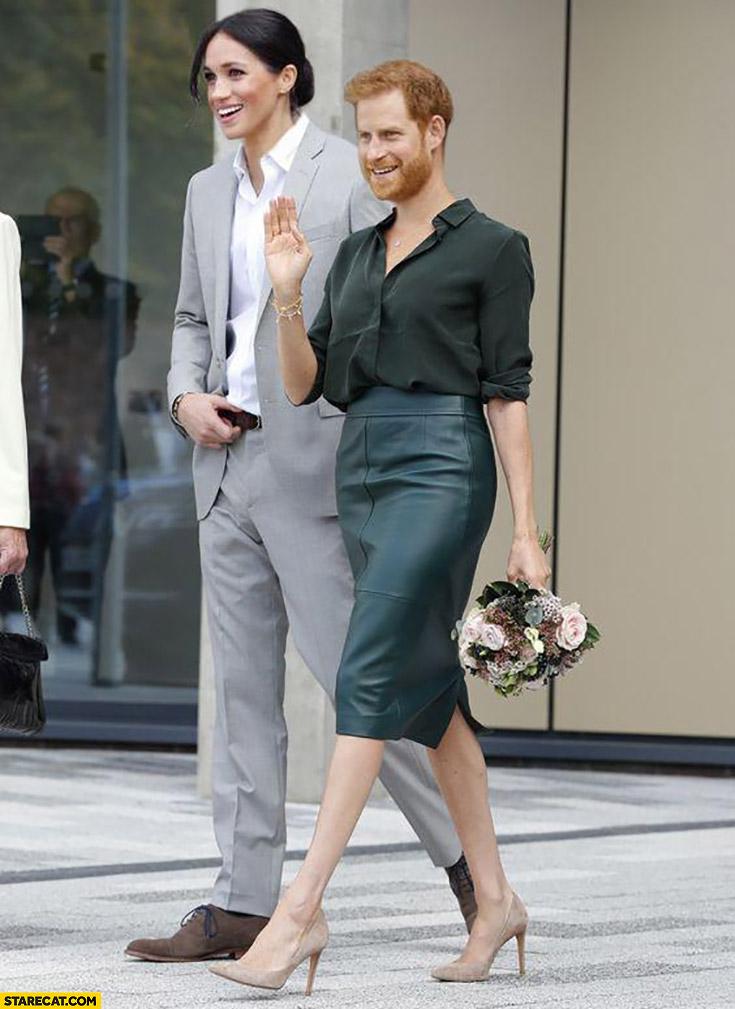 Meghan Markle Prince Harry face swap