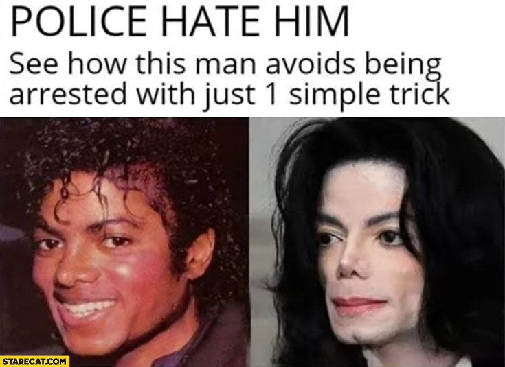 Michael Jackson police hate him, see how this man avoids being arrested with just 1 simple trick