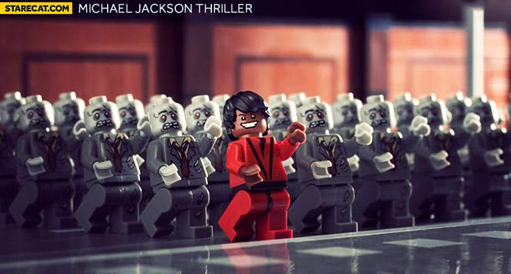 Michael Jackson Thriller LEGO