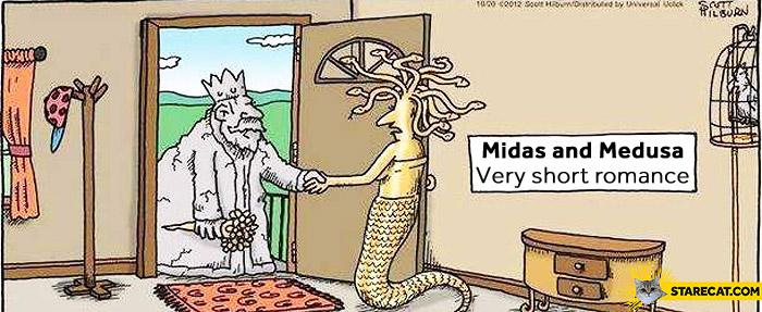 Midas Medusa short romance