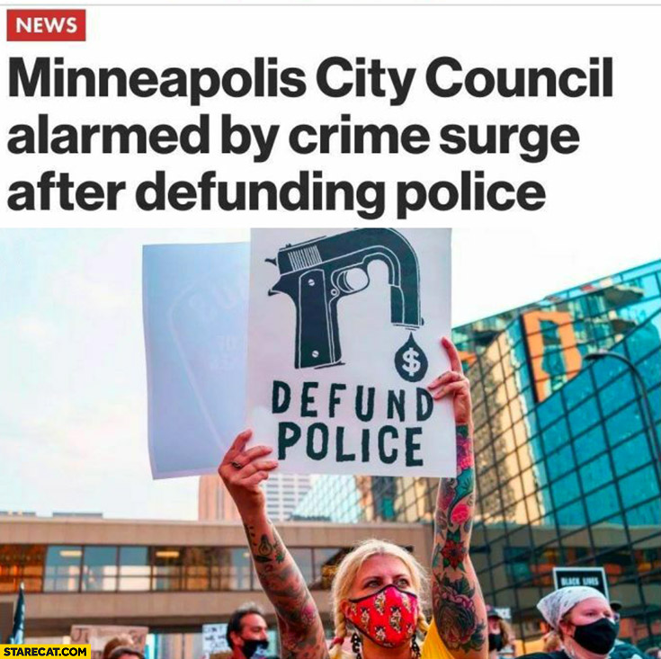 Minneapolis city council alarmed by crime surge after defunding police