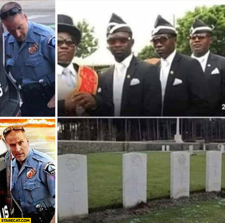 Minneapolis policeman vs 4 black man funeral they are all dead now