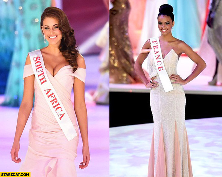 Miss south africa miss france