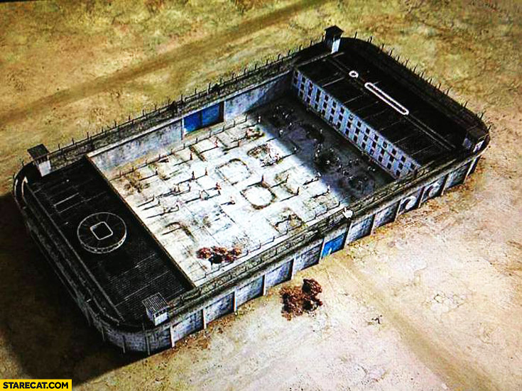 Modern prisons iPhone