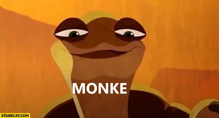 Monke monkey meme