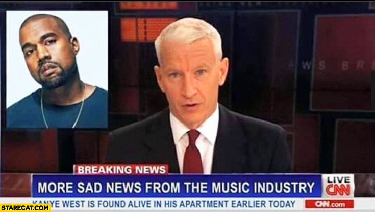 More sad news from the music industry Kanye West
