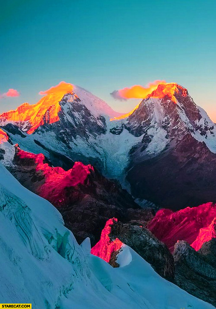 Mount Everest Sunset Starecat Com