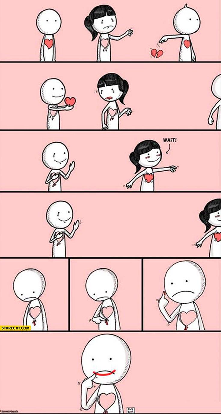 My tragic little love story
