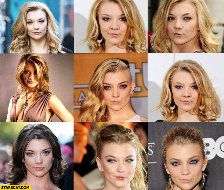 Natalie Dormer semi duck face