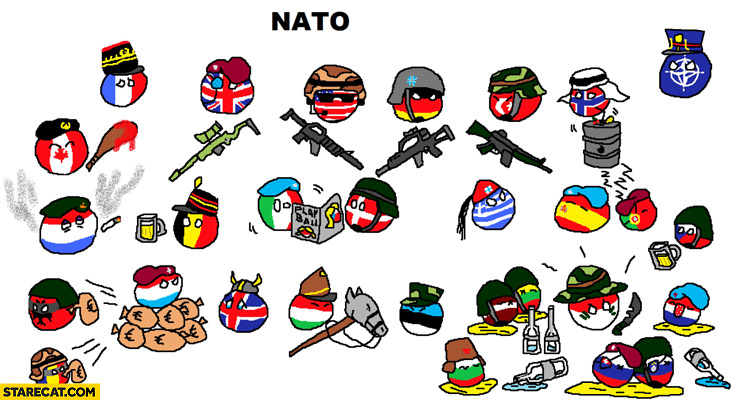 NATO countries balls Polandball