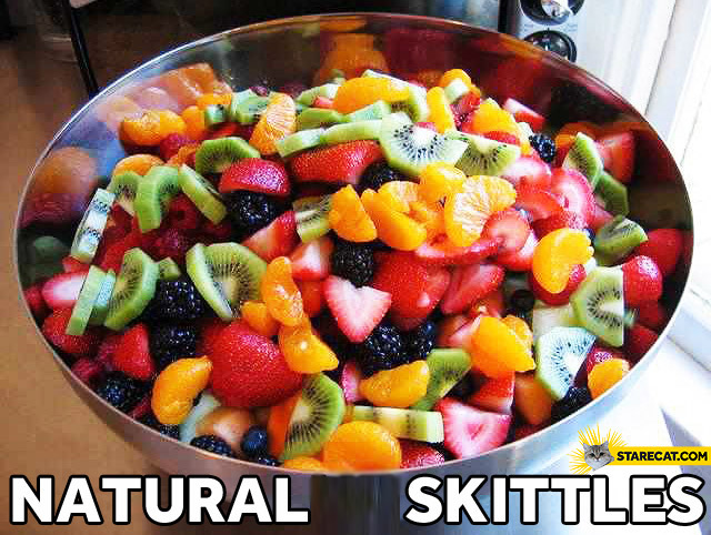 Natural Skittles