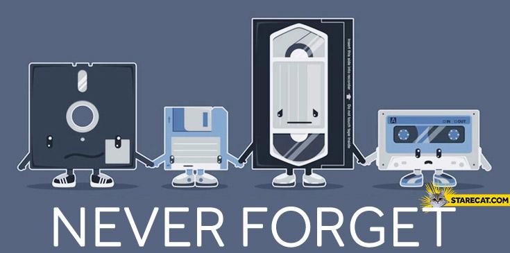 Never forget old disks
