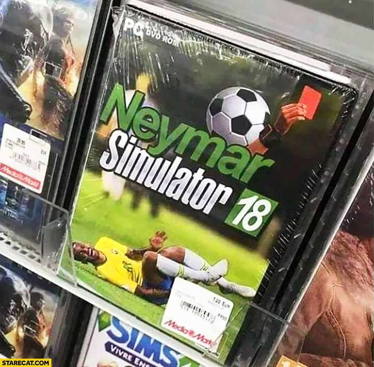 Neymar simulator computer football game