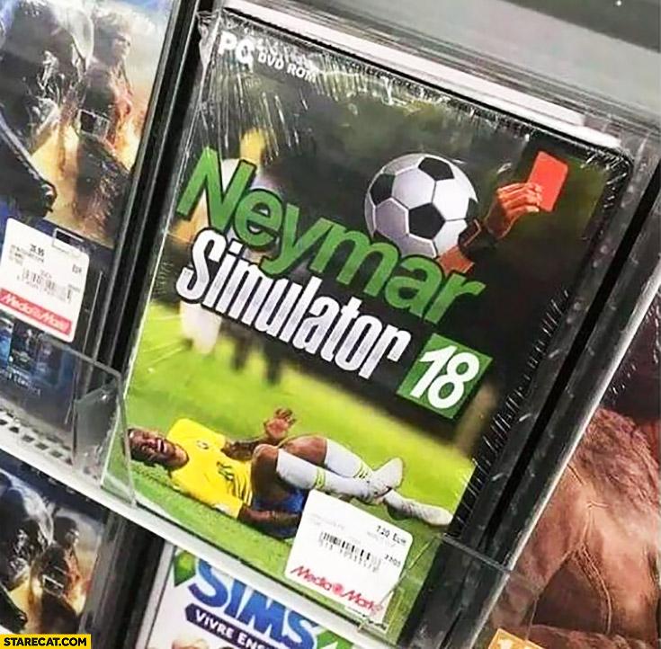 Neymar simulator computer football game