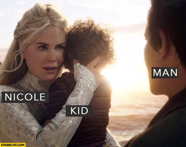 Nicole Kid man literally Kidman
