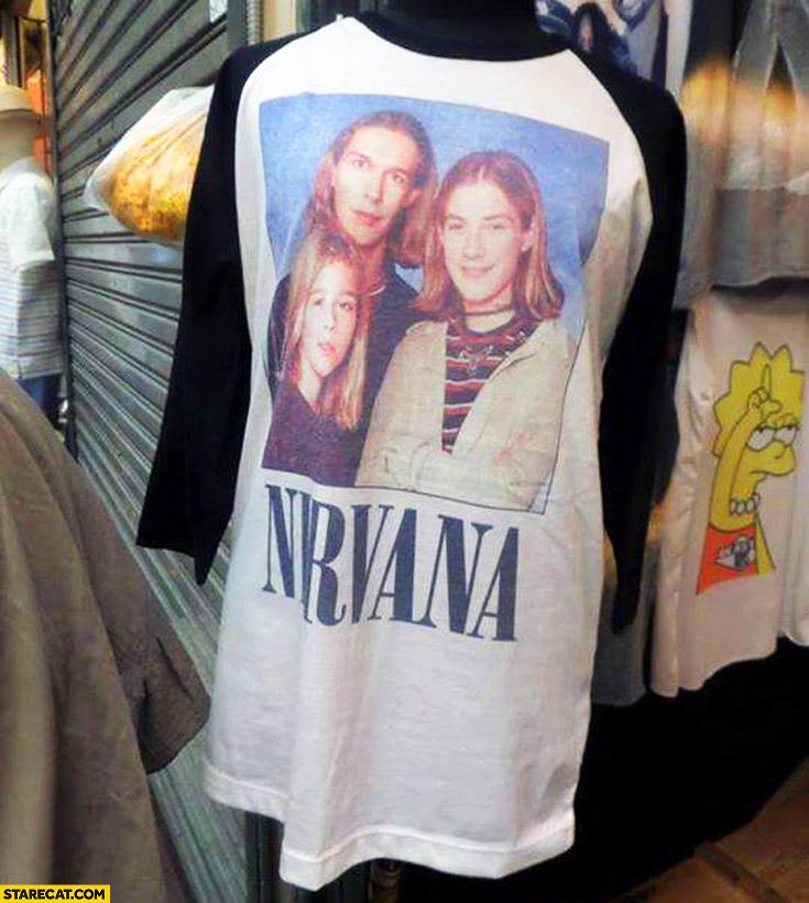 Nirvana Hanson t-shirt trolling fail