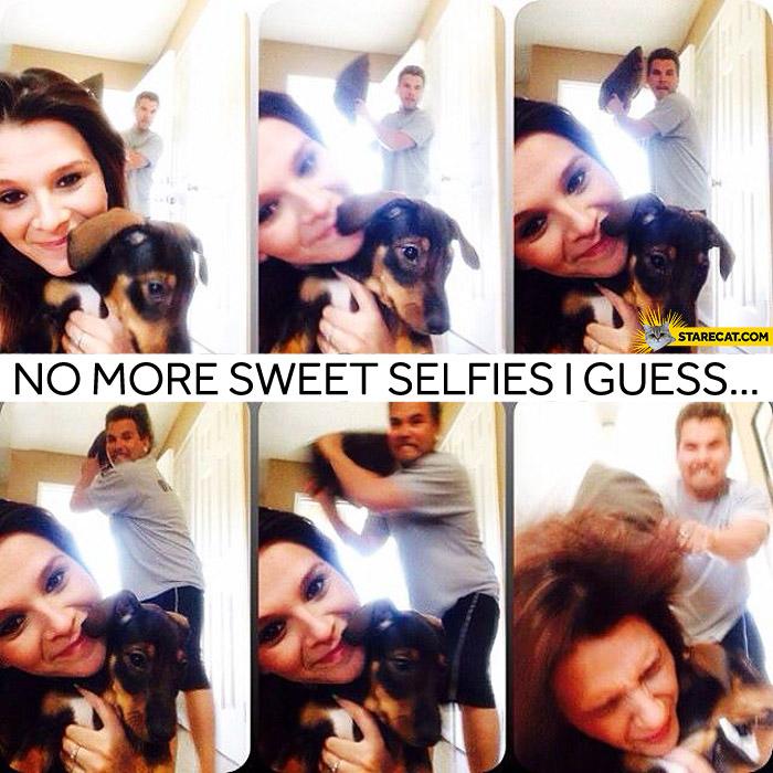 No more selfies