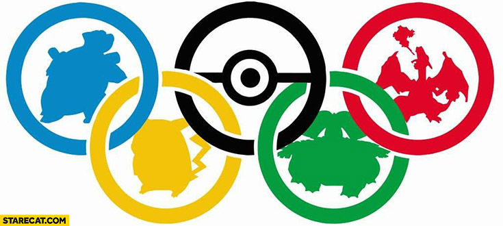 Olympic games Pokemon logo