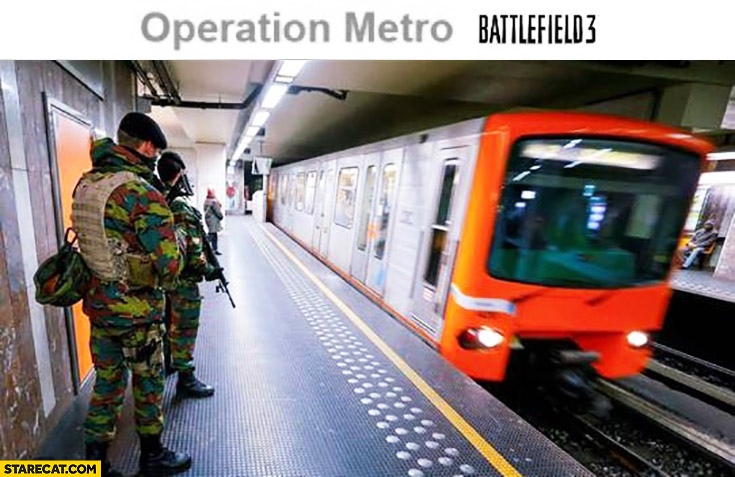 Operation Metro Battlefield 3 Brussels Belgium