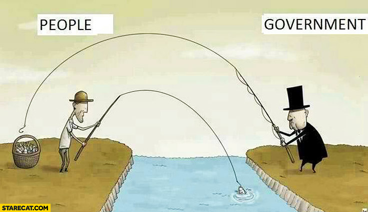 People government fishing