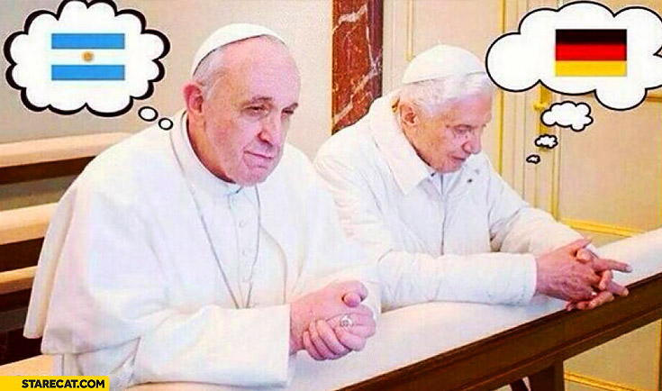 Popes mundial finals