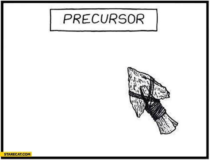 Precursor archaic old cursor
