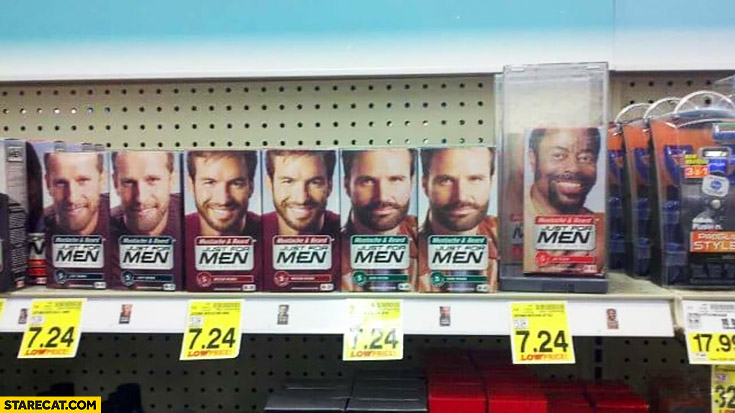 Product for black men with extra protection against stealing
