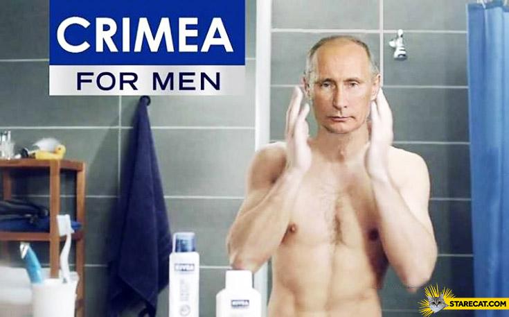 Putin Crimea Nivea