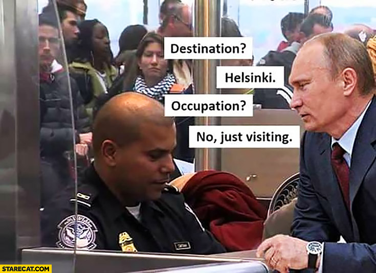 Afbeeldingsresultaat voor putin occupation no just visiting