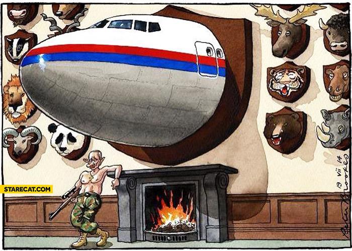 Putin trophies