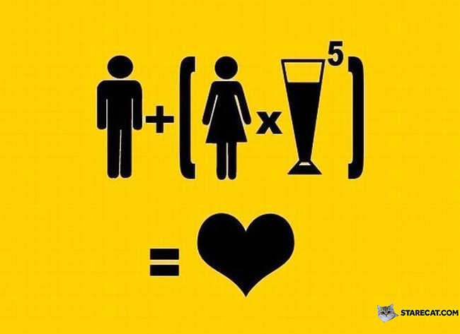 Recipe for love equation