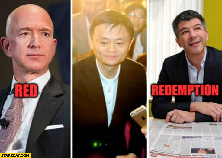Red dead redemption Jack Ma Bezos