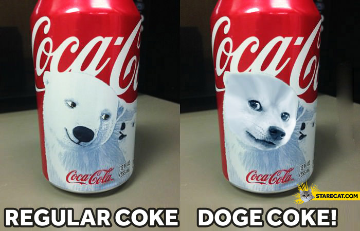Regular Coke Doge Coke