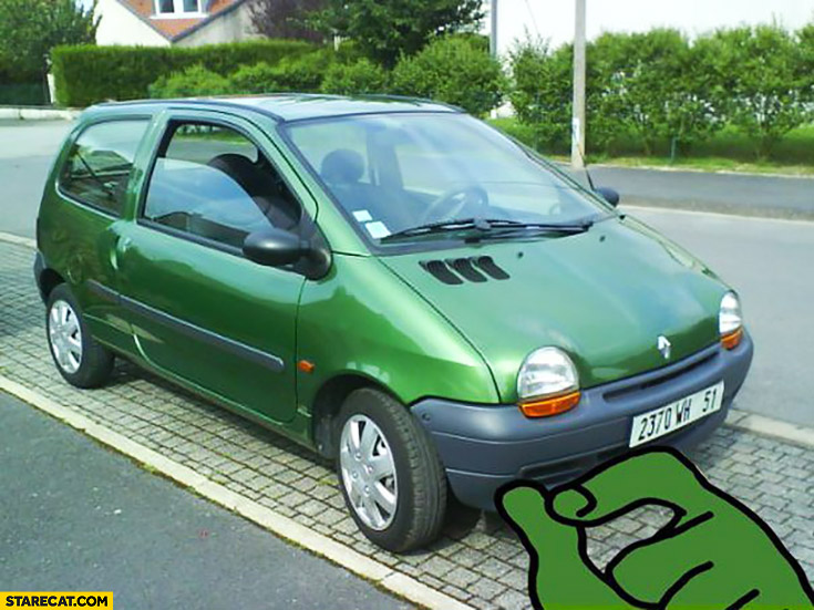 Renault Twingo Pepe the frog meme
