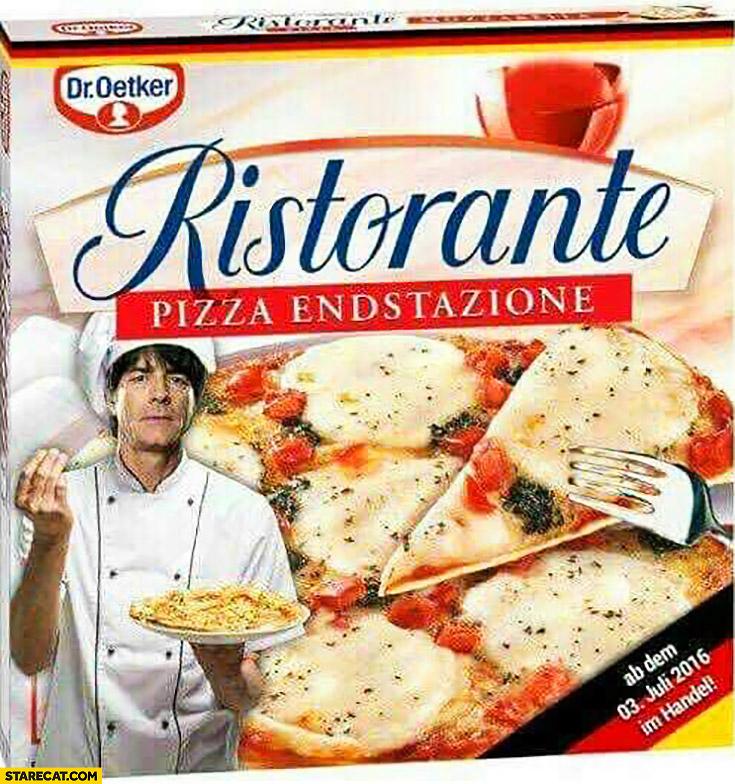Ristorante pizza endstazione Joachim Loew meme