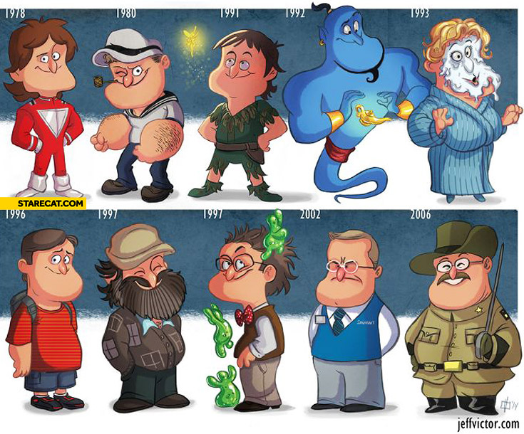 Robin Williams evolution