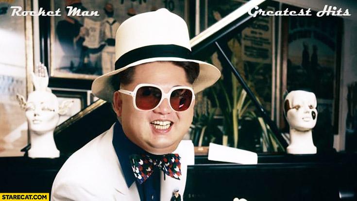 Rocket man greatest hits Kim Jong Un music album