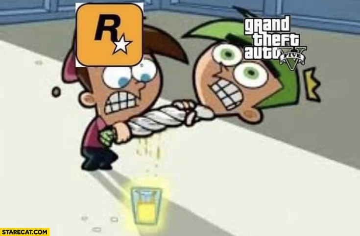 Rockstar making everything they can out of GTA V Grand Theft Auto