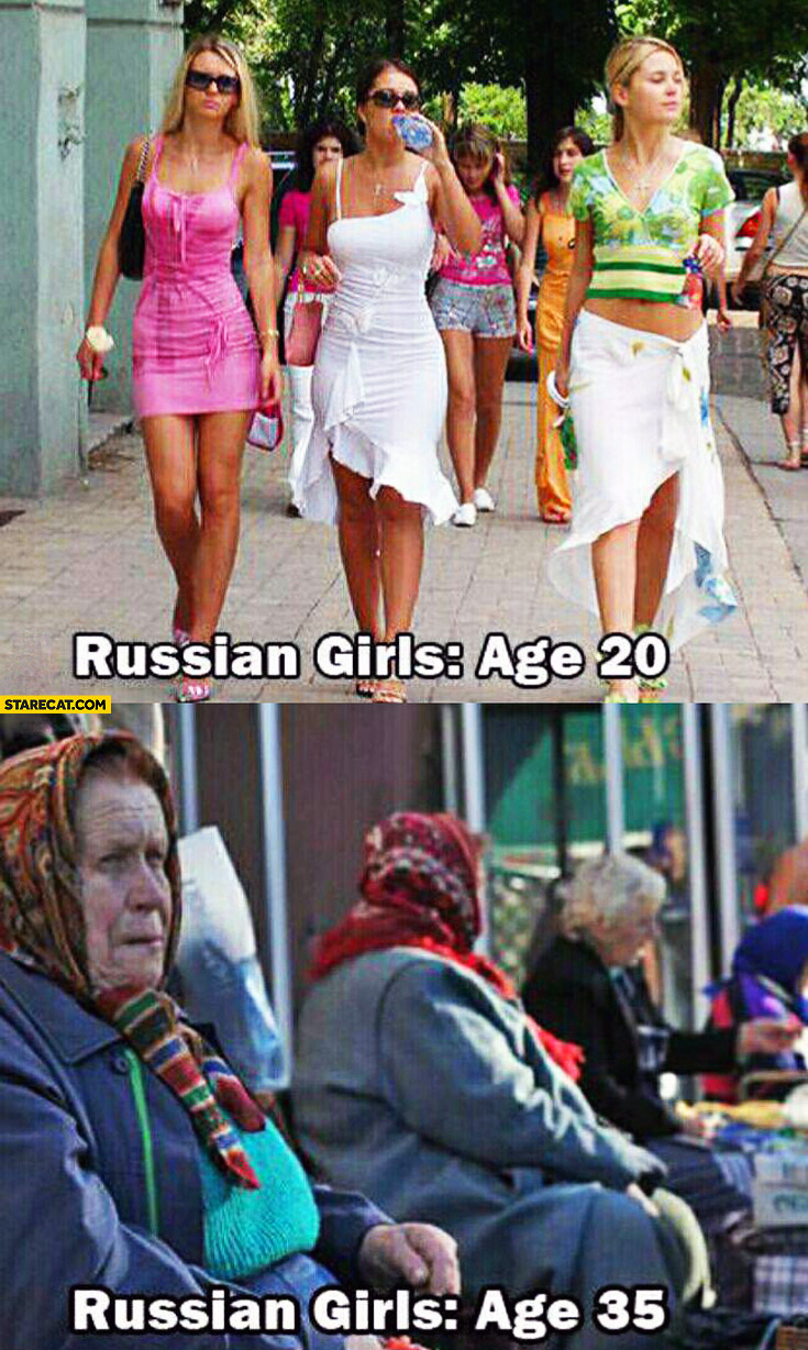 Russian girls age 20 russian girls age 35