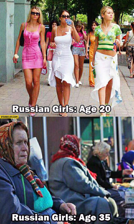 Russian girls age 20 russian girls age 35