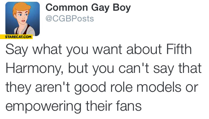 Say what you want about Fifth Harmony but you can't say that they aren't good role models or empowering their fans