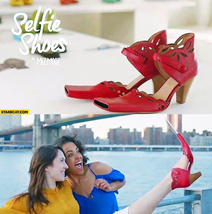 Selfie shoes for women
